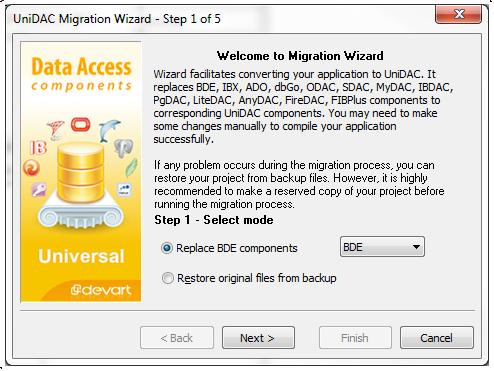 unidac_conversion_wizard