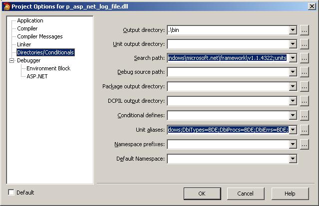delphi directories tabsheet
