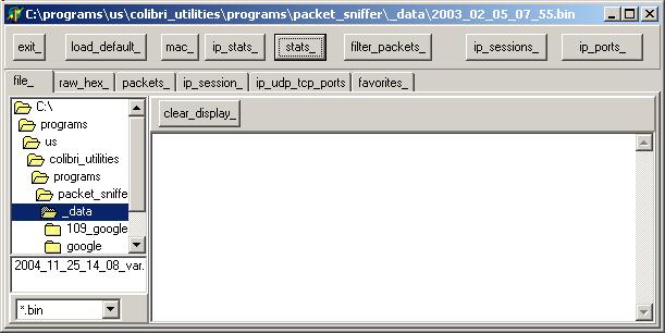 Felix Colibri- TCP IP Sniffer